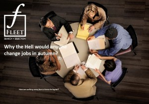 why change jobs in the autumn